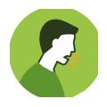 pessoa tossindo